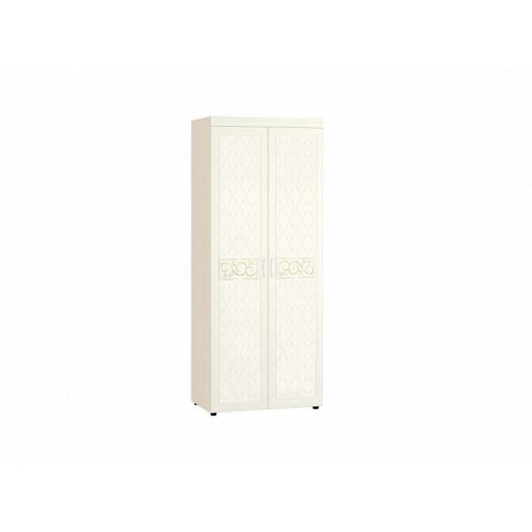 Шкаф для одежды с полками и штангой Тиффани 93.13