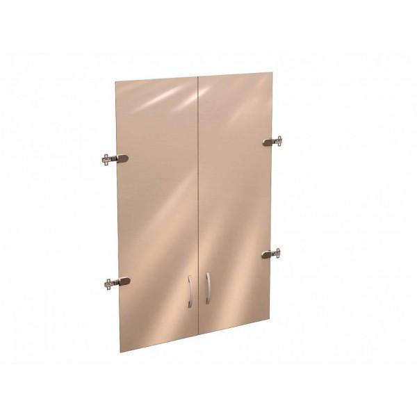 Двери стеклянные 3 секции Рубин 40.38