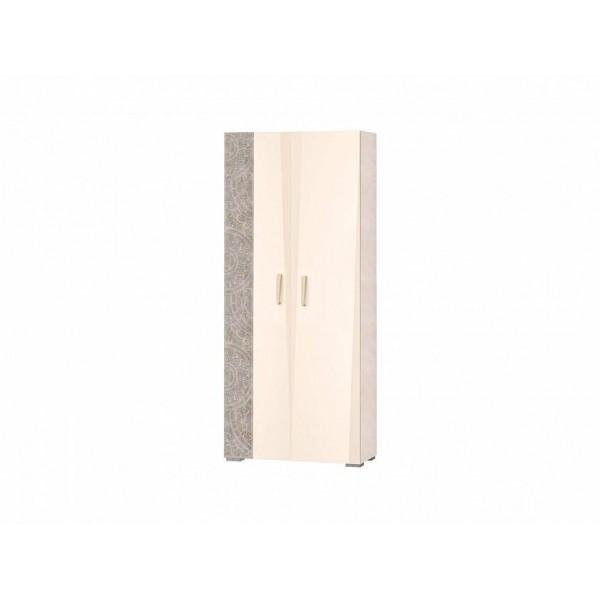Шкаф для одежды с полками и штангой (лев/прав) Фреска 48.02