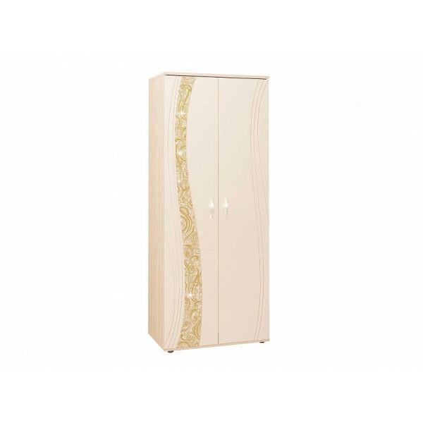 Шкаф для одежды с полками и штангой Соната 98.13