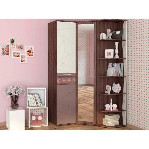 Угловой шкаф в комплекте Розали 61