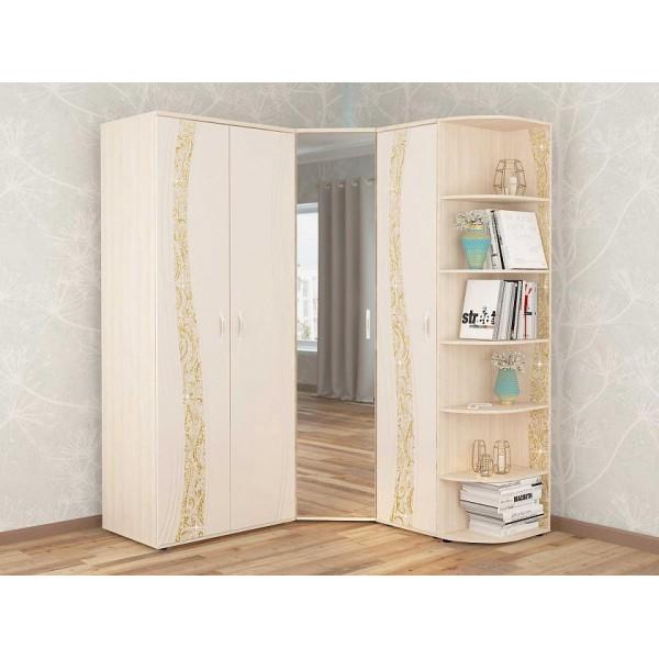 Угловой шкаф в комплекте Соната 13