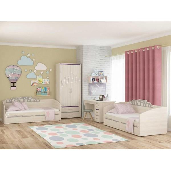 Набор мебели для детской Мегаполис 17