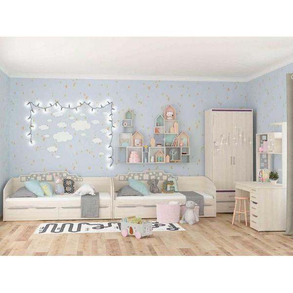 Набор мебели для детской Мегаполис 15