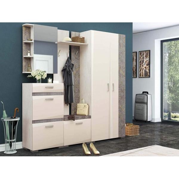 Набор мебели для прихожей Фреска 11 (ширина 210 см)