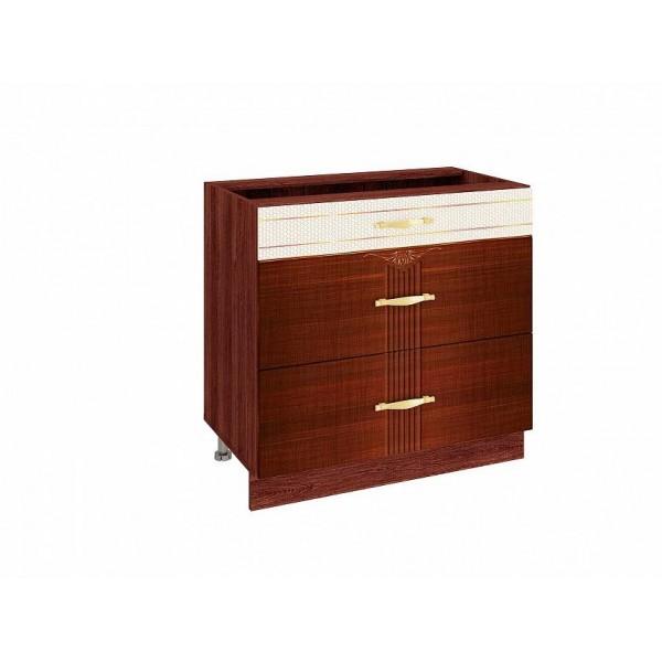 Напольный шкаф (3 ящика с доводчиком Titusoft) Каролина 24