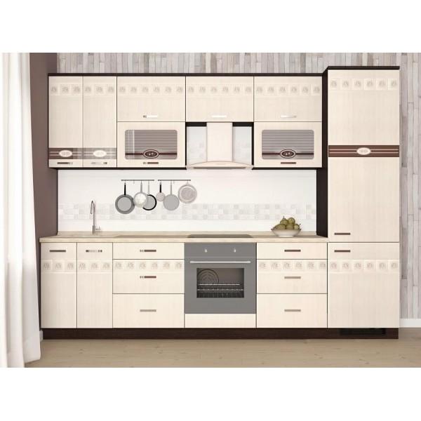 Кухонный гарнитур Аврора 25 (ширина 300 см)
