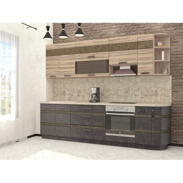 Кухонный гарнитур Бруклин 17 (ширина 280 см)