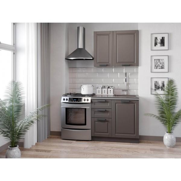 Кухонный гарнитур 1500 Мокка (Белый/Сандаун)