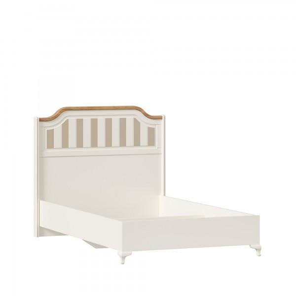 Кровать 1200 без основания Вилладжио (Алебастр/Дуб золотой)