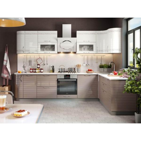 Модульная кухня Анастасия (Капучино)