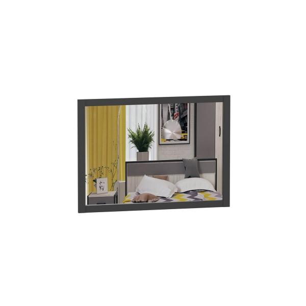 Зеркало настенное 890*600 Техно (Чёрный)
