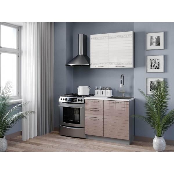 Кухонный гарнитур 1500 Анастасия (Капучино)