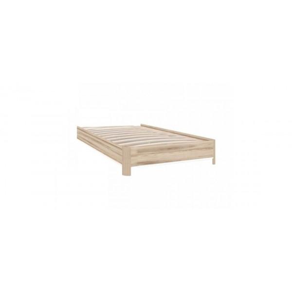 Корпус кровати 900 Марта (Белый/Дезира Эш)