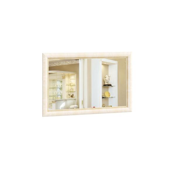 Зеркало настенное 1100*700 Александрия (Кожа Ленто/Рустика)