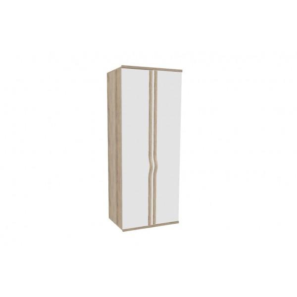 Шкаф двухстворчатый Марта (Белый)