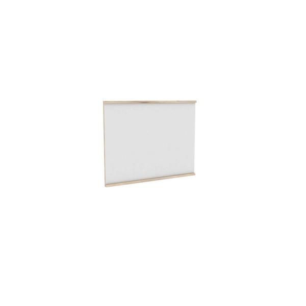 Зеркало настенное 800*610 Марта (Белый/Дезира Эш)