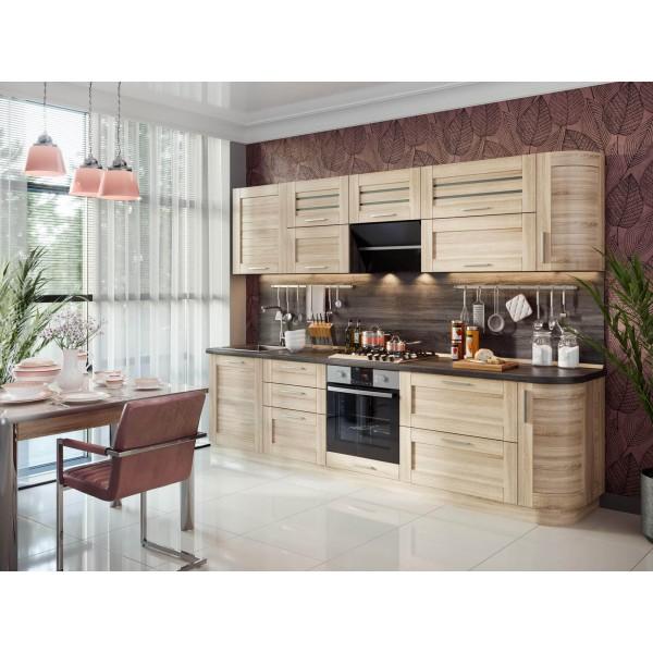 Модульная кухня Анастасия (Сономе эйч светлая)