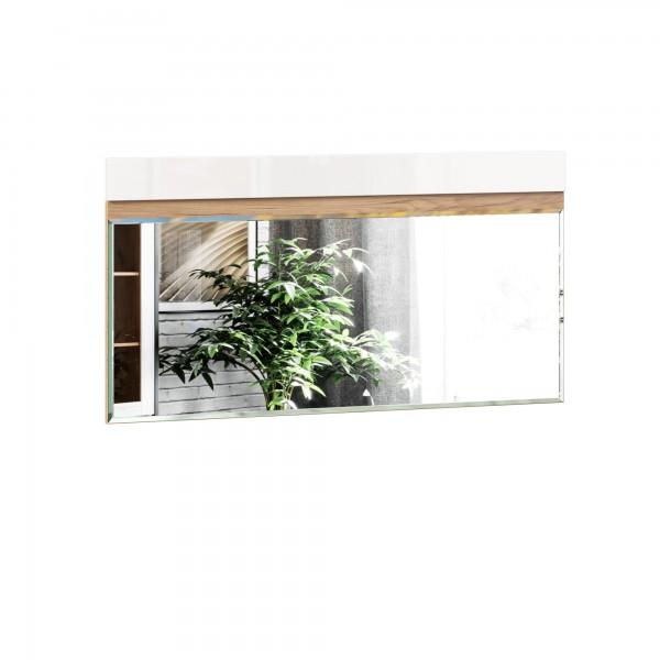 Зеркало настенное 1200 Фиджи (Дуб Золотой/Белый)