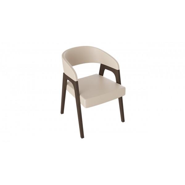 Кресло «Техас 1» (Орех темный/тк № 67)