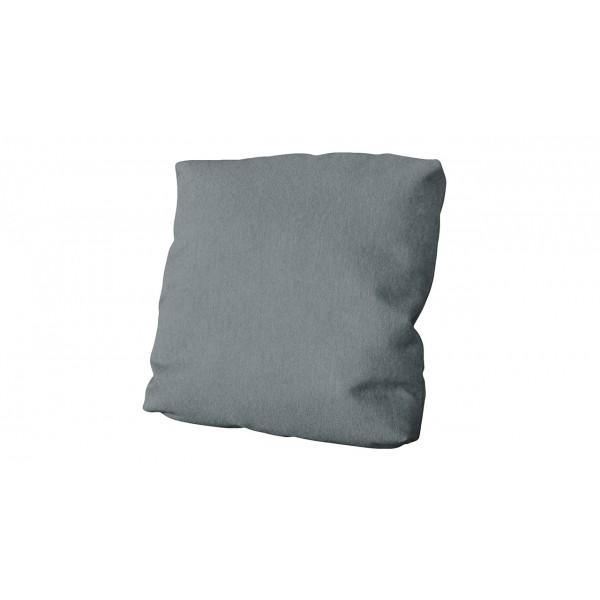 Подушка малая П1 (Kolibri Silver (велюр), серый)