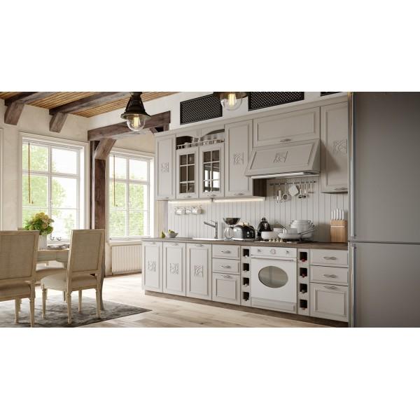 Кухонный гарнитур «Сабрина» №2 (САБРИНА (Кашемир))