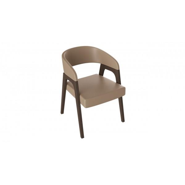 Кресло «Техас 1» (Орех темный/тк № 65)