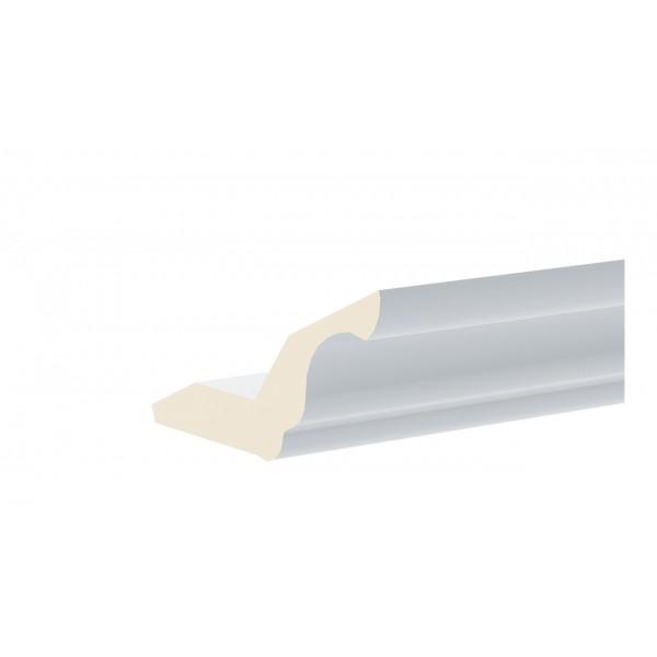 Карниз кухонный МДФ (длина=2.2м) (СКАЙ (Голубая))
