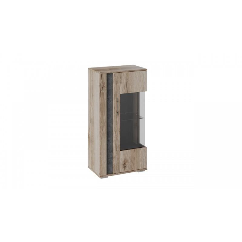 Шкаф навесной «Брайтон» (Камень/Дуб Делано)