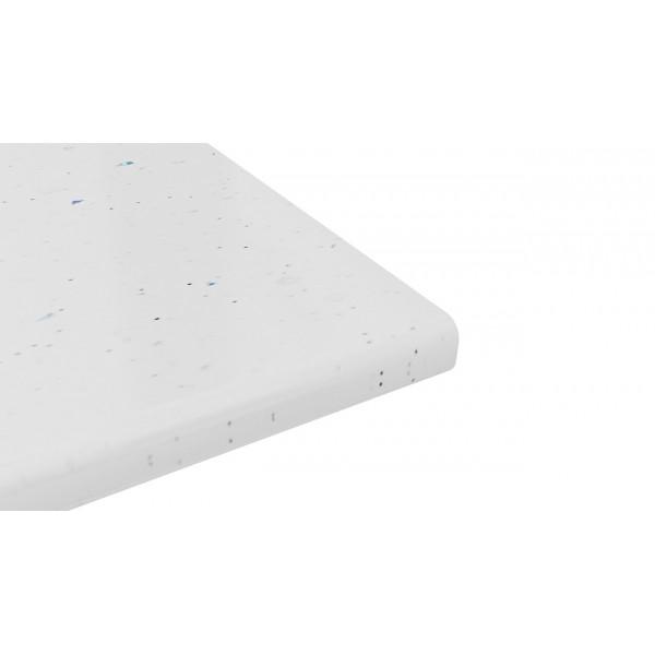 Крышка стола 40х600х3000 (Белая Искра (Глянец))