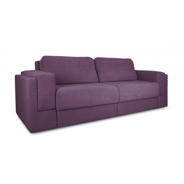 Диван «Порто» (Kolibri Violet (велюр) фиолетовый)