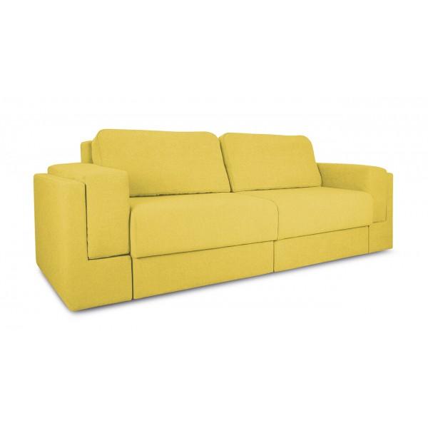 Диван «Порто» (Neo 08 (рогожка) желтый)