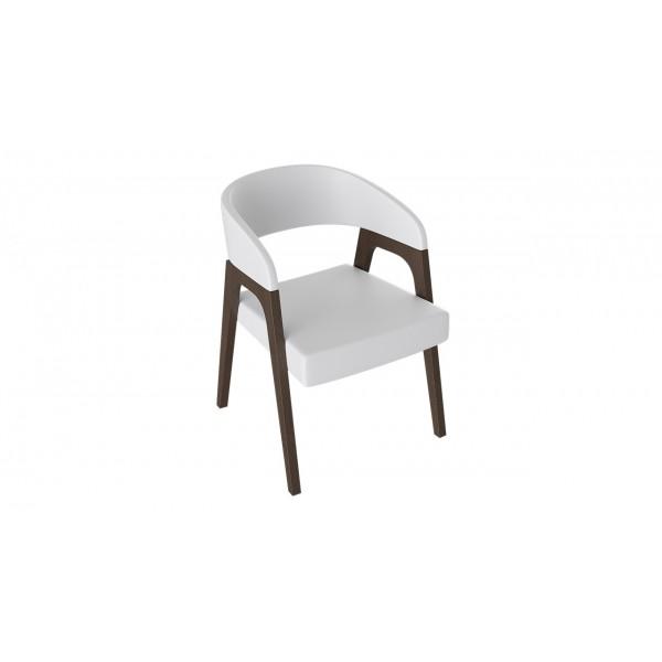 Кресло «Техас 1» (Орех темный/тк № 66)