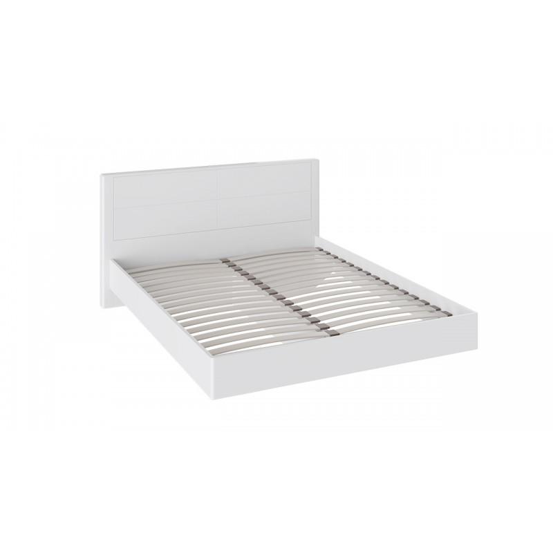 Двуспальная кровать «Наоми» (Белый глянец)